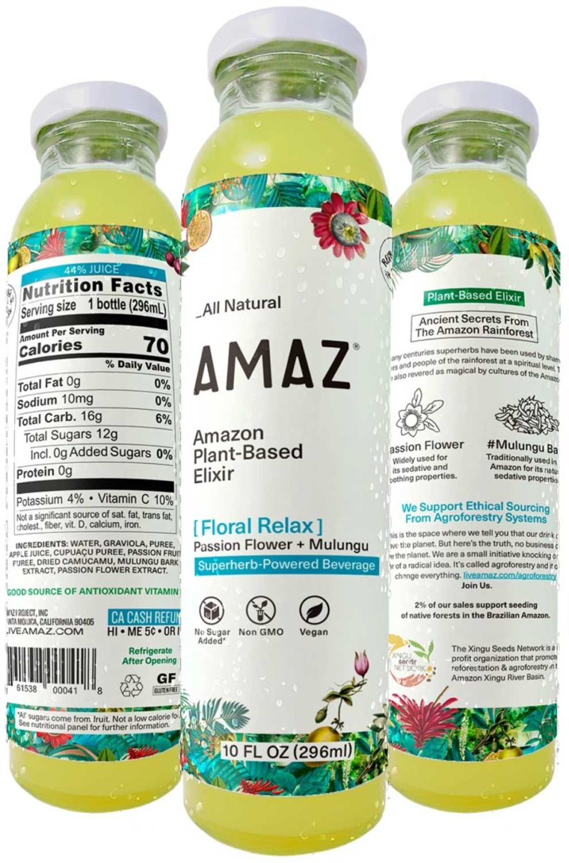 AMAZ Floral Relax – 6 Pack