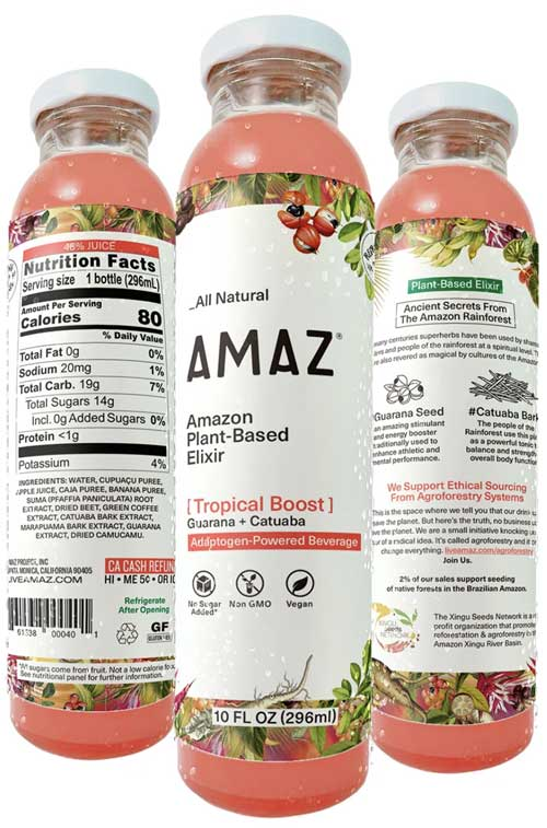 AMAZ Tropical Boost – 6 Pack