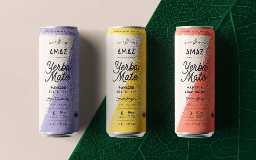 AMAZ Relaunches with Canned Yerba Mate Line